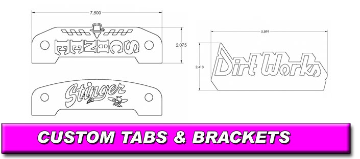 Custom Tabs and Brackets