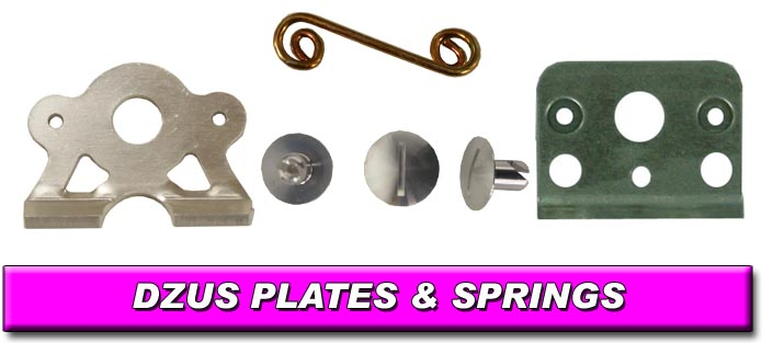 Dzus Plates and Springs