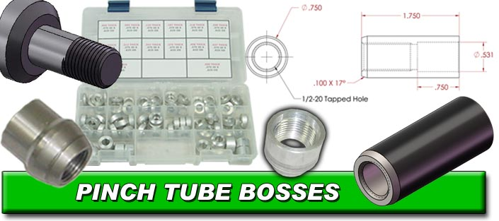 Pinch Tube Bosses
