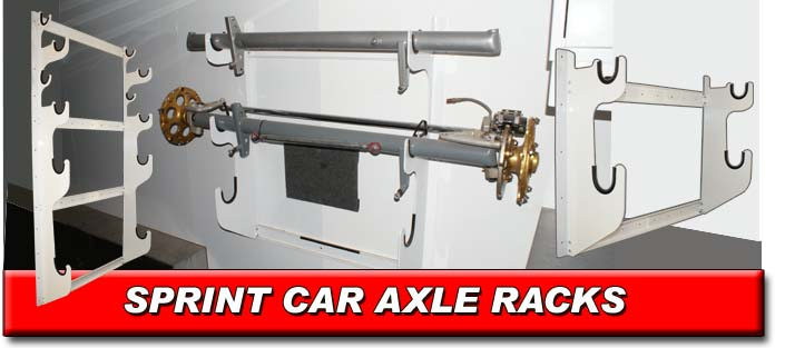 Sprint Car Axle Racks