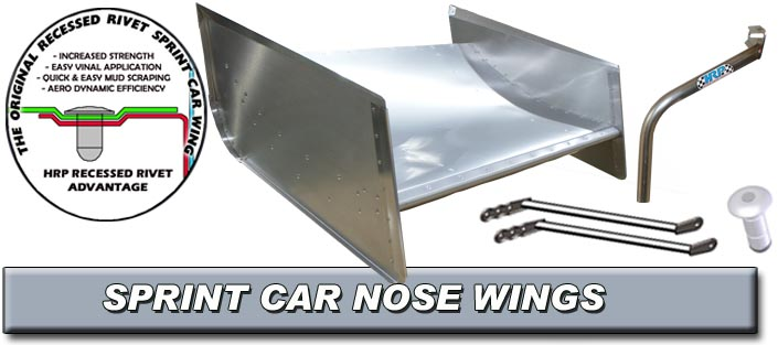 Sprint Car Nose Wings