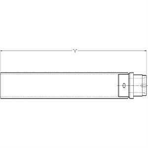 "Picture of Axle Tube, Stock Car Products, 3"" OD, MS"