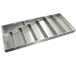 """Picture of Wrench Tray, Tool Tay, Parts Organizer, 25.0"""" x 11.0"""" x 1.250"""", Aluminum"""