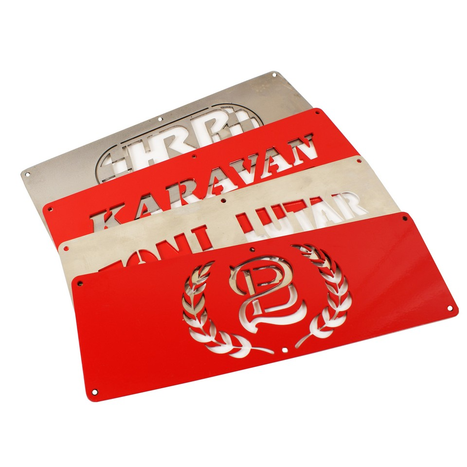 Personalized Custom Name Plate Mule Conversion Option