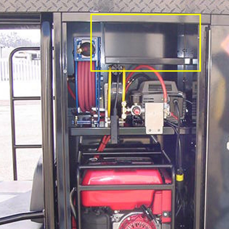 Picture Of Generator Cabinet Storage Tray