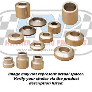"""Picture of Aluminum Spacer 0.375"""" Long, 0.500"""" ID X 1.00"""" OD"""