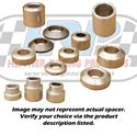 """Picture of Aluminum Spacer 0.406"""" Long, 0.500"""" ID X 0.750"""" OD"""
