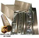 "Picture of Sprint Car Top Wing Kit, 2.5"" Dish, Recessed Rivet, Standard Boards With 1° Center Skew"