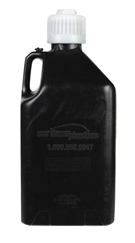 picture of 5 gallon utility jug black