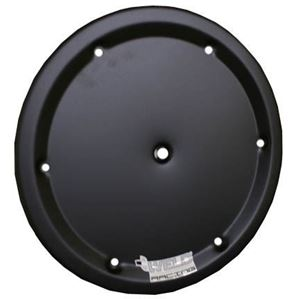 "Picture of 15"" Dzus On 6 hole Wheel Cover Black"