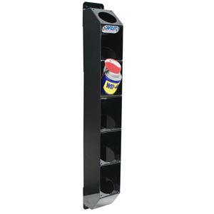 Picture of Spray Can Rack 6 Place Black